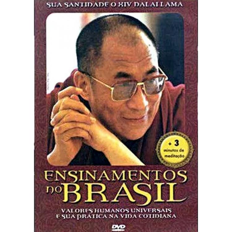 Dalai Lama - Ensinamentos No Brasil - Dvd  Original Lacrado