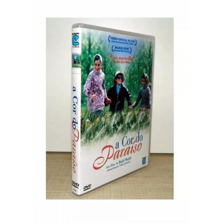 A Cor Do Paraíso - Cinema Iraniano - Raríssimo - Dvd