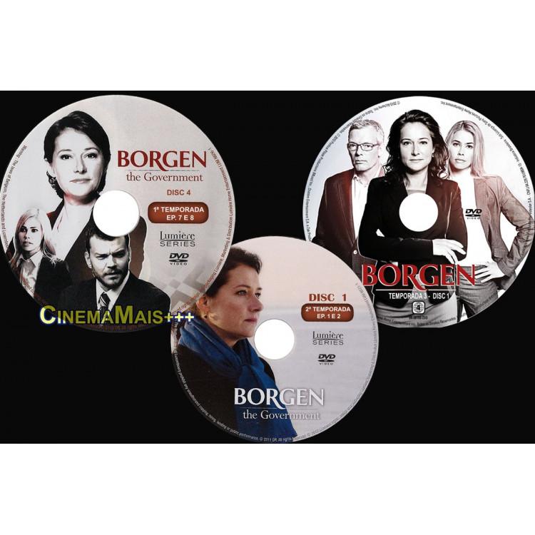Borgen - O Governo - Série Completa 9 Dvds 1ª 2ª E 3ª 9 Dvds