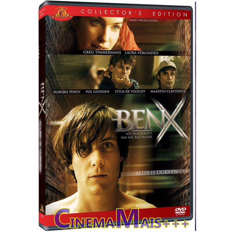 Ben X - A Fase Final - Autismo - Thriller - *exclusivo* Dvd
