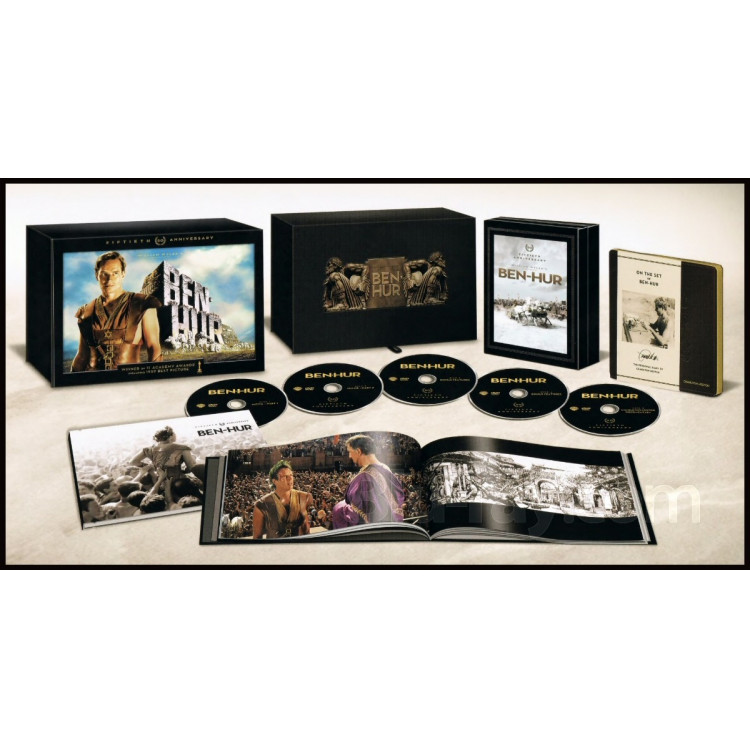 Dvd Classic Ben-hur 50th Anniversary Ultimate Collector-s Ed