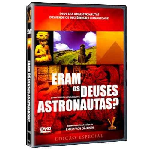 Dvd Eram Os Deuses Astronautas? - Documentário