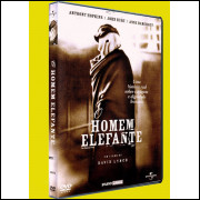 O Homem Elefante - Anthony Hopkins /  Dvd