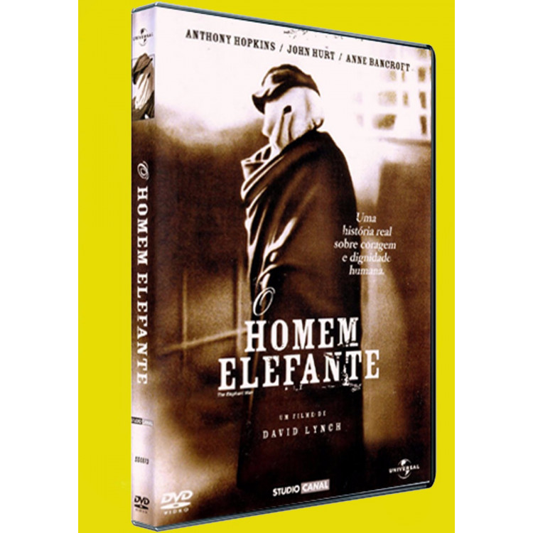 O Homem Elefante - Anthony Hopkins /  Dvd