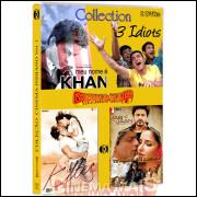 Coleção Cinema Indiano - 3 Idiotas - 4 Filmes Em 3 Dvds