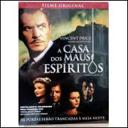 A Casa Dos Maus Espiritos - Vincent Price - Dvd Raríssimo
