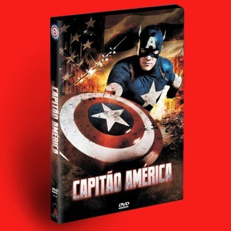 Dvd Capitão América - O Filme (1990) Com Luva - Lacrado