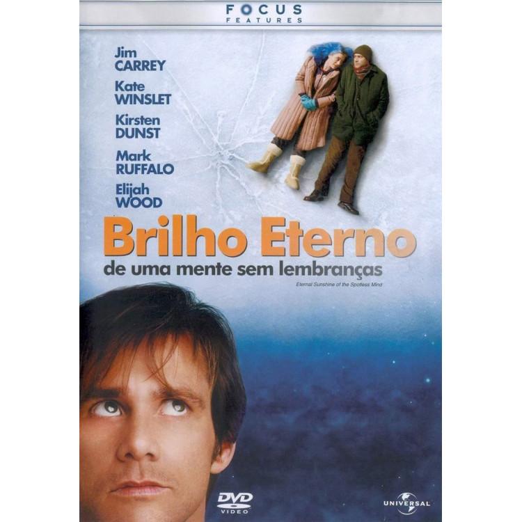Brilho Eterno De Uma Mente Sem Lembranças - Dvd - Jim Carrey