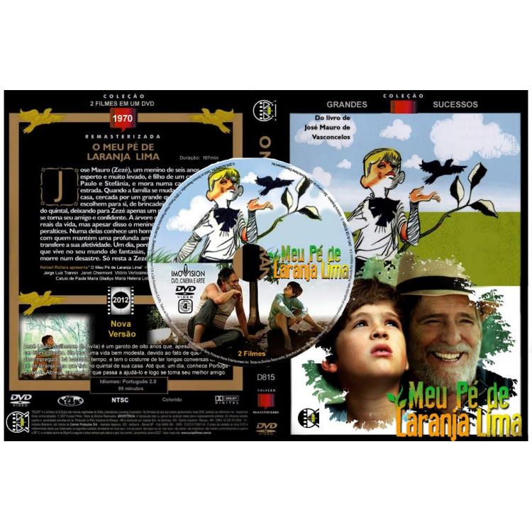 Meu Pé De Laranja Lima - Versão 1970 E  2012 - 2 Filmes Em 1
