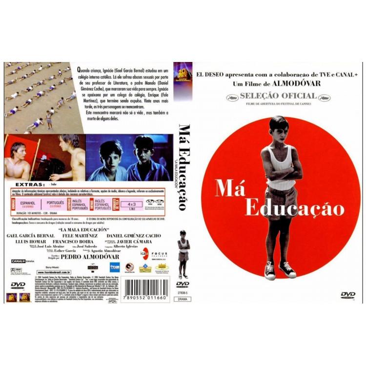 Má Educação -  Cinema Europeu - Raríssimo