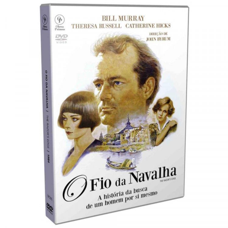 O Fio Da Navalha 1984 - Dvd Original Lacrado