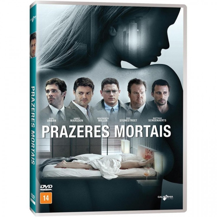 Prazeres Mortais - Dvd Original Lacrado