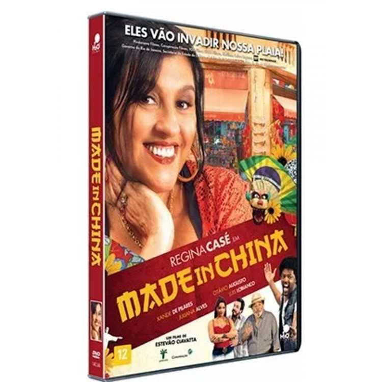 Made In China -  Regina Casé -  Dvd Original Novo Lacrado