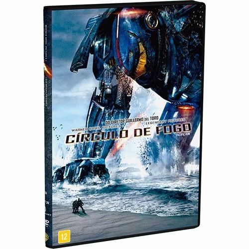 Círculo De Fogo -  (Pacific Rim)   2013  Dvd