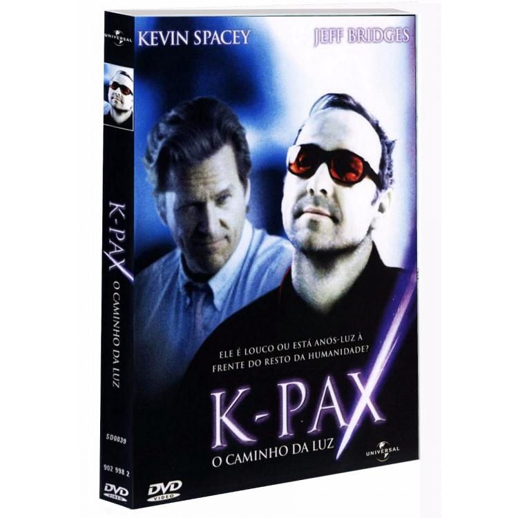 K-pax O Caminho Da Luz Kevin Spacey Dvd Novo Lacrado  Raro