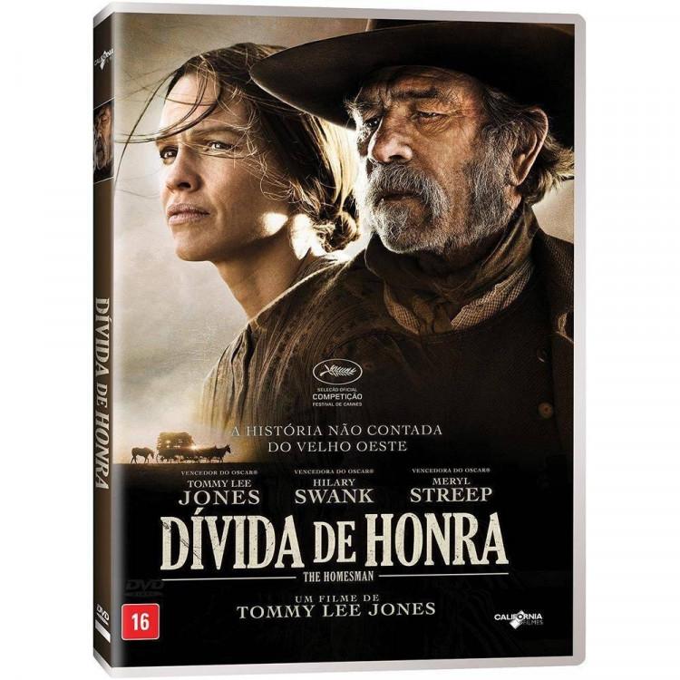 Dívida De Honra -  Dvd Original Lacrado