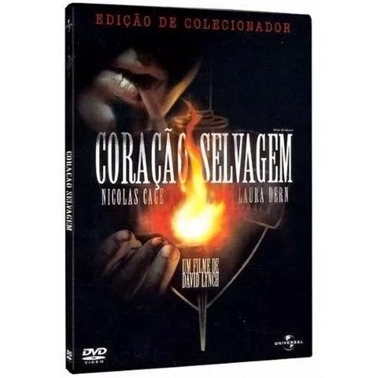 Coração Selvagem -  Nicolas Cage -  Laura Dern   -   Dvd