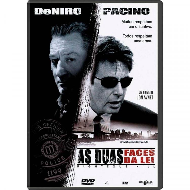 As Duas Faces Da Lei - Dvd Original Lacrado