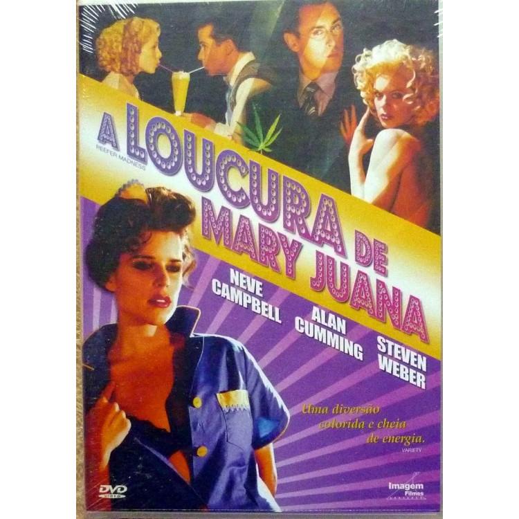 A Loucura De Mary Juana -  Dvd (Comédia, Musical)
