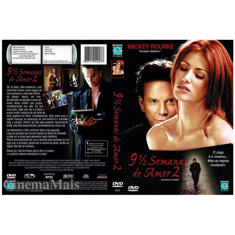 9 e Meia  Semanas de Amor 2 - Mickey Rourke - Drama, Romance