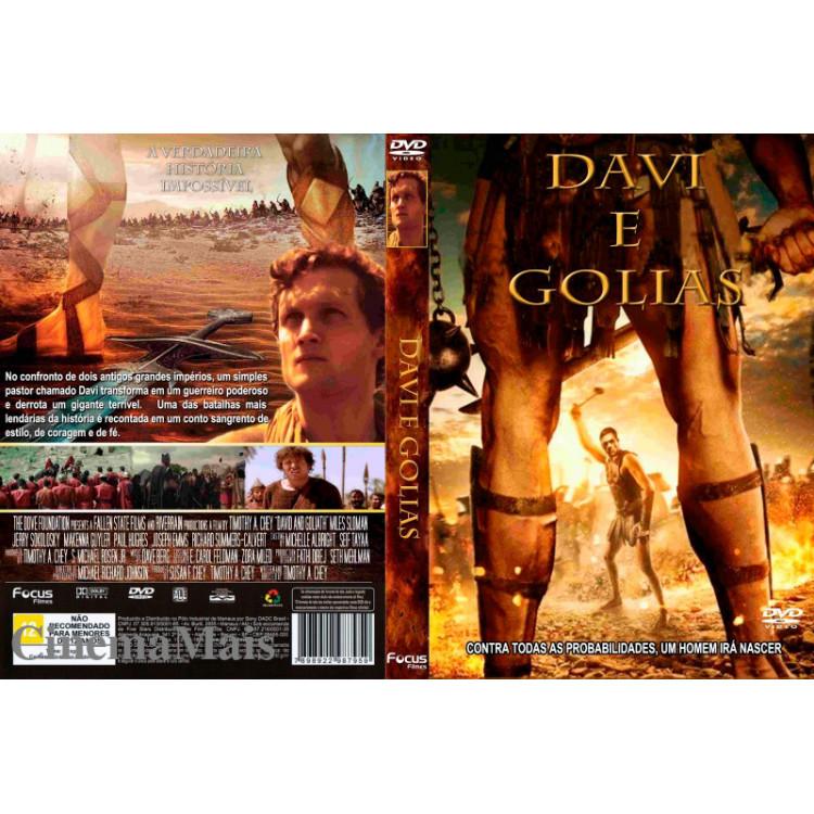 DAVI & GOLIAS - DVD Light - (Drama, Épico) Original