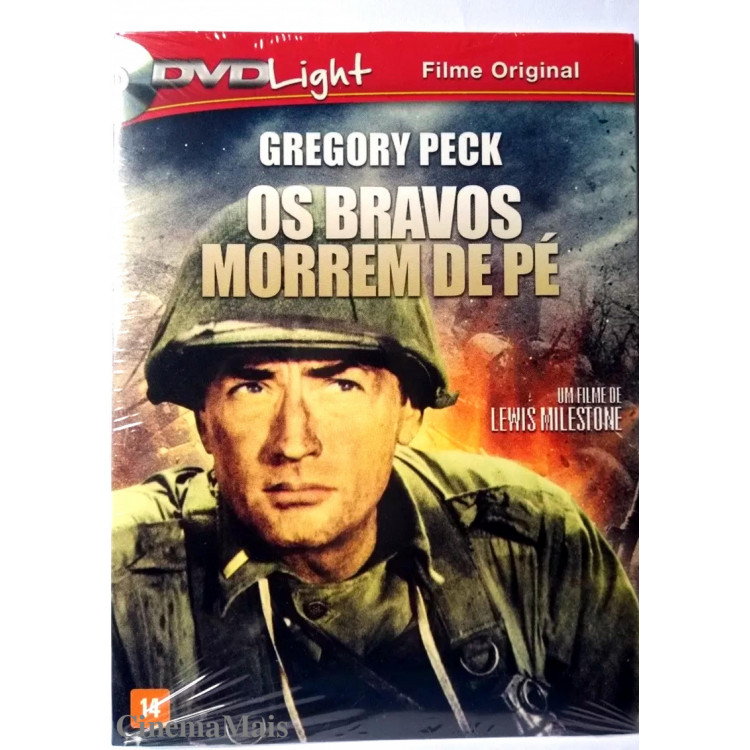 OS BRAVOS MORREM DE PÉ -(Pork Chop Hill)  DVD LIGHT  - Guerra