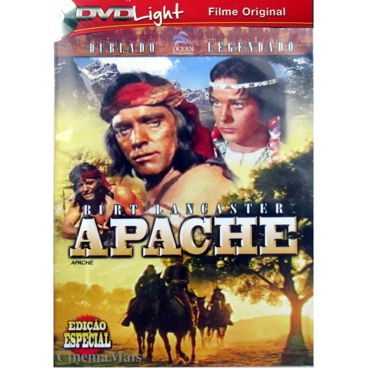 Apache - Burt Lancaster - DVD LIGHT - western