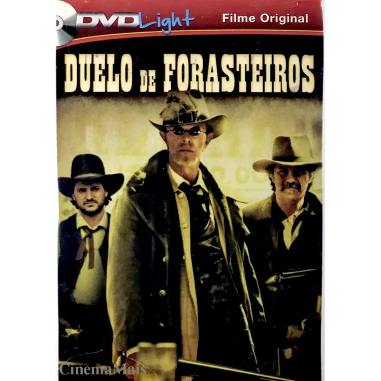 DUELO DE FORASTEIROS - FAROESTE - DVD Light