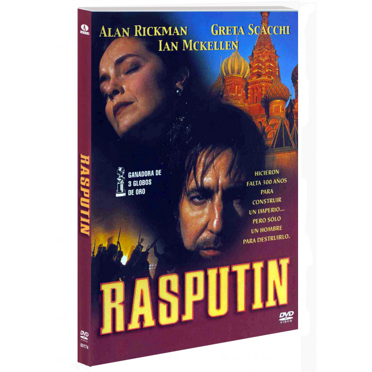 Rasputin -  Filme raríssimo - do VHS Para DVD.