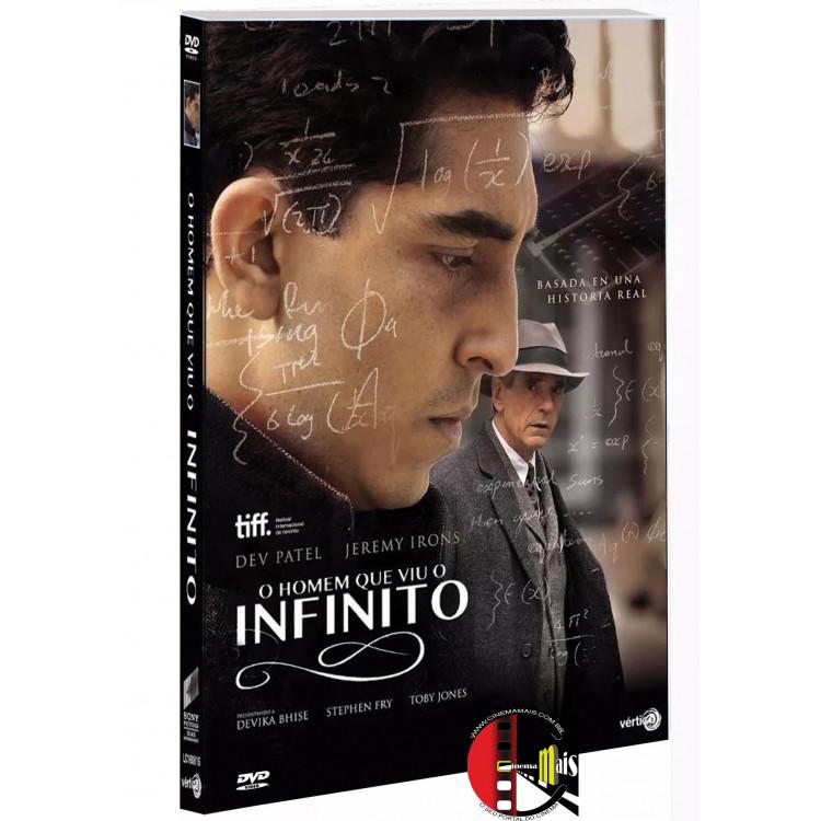 O HOMEM QUE CONHECEU O INFINITO - (QUE VIU O INFINITO) DVD