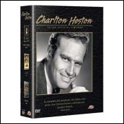 BOX CHARLTON HESTON -(Cidade Negra - El Cid - Midway) 3 DVDS