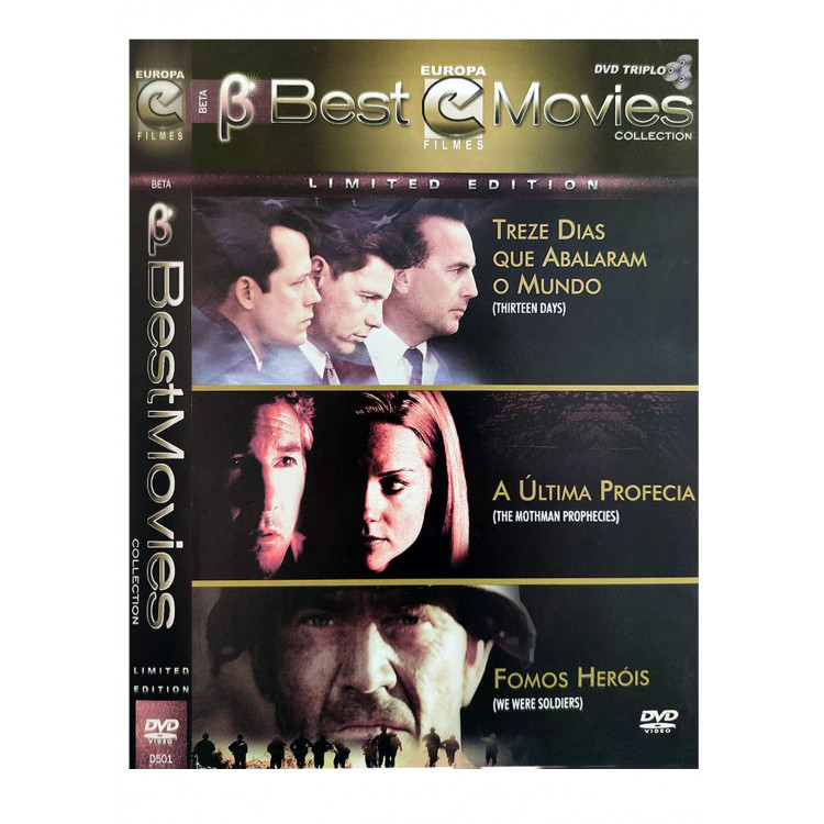 Coleção Best Movies - 13 Dias Que Abalaram o Mundo - 3 DVDs