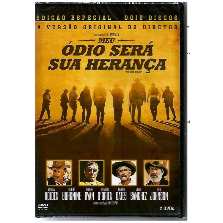 MEU ÓDIO SERÁ SUA HERANÇA - diretor: Sam Peckinpah - DVD