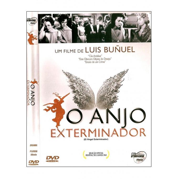 O ANJO EXTERMINADOR - diretor: Luis Bunuel  -  DVD
