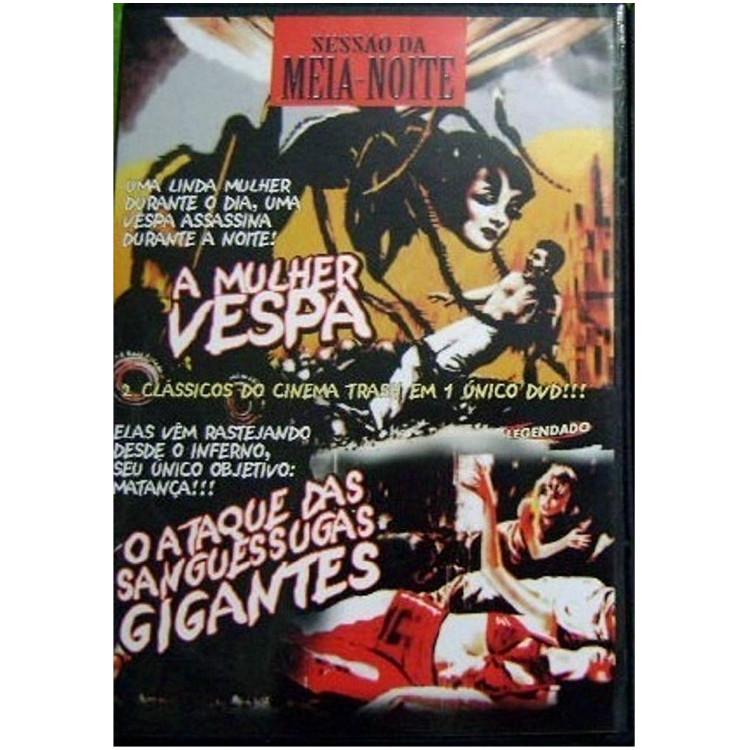 A MULHER VESPA - O ATAQUE DAS SANGUESSUGAS GIGANTES - DVD