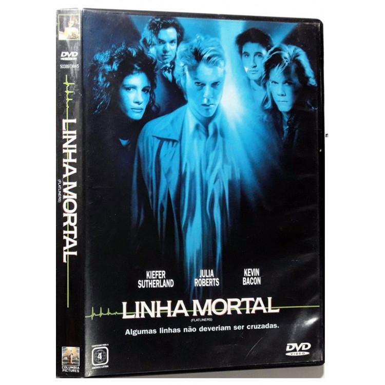DVD LINHA MORTAL - Kiefer Sutherland  Júlia Roberts, Kevin Bacon
