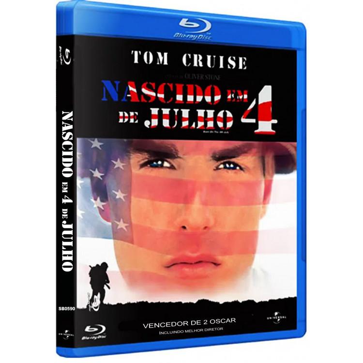 NASCIDO EM 4 DE JULHO - Tom Cruise - BLU-RAY