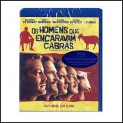 Os Homens Que Encaravam Cabras  -  George Clooney  - Blu-ray
