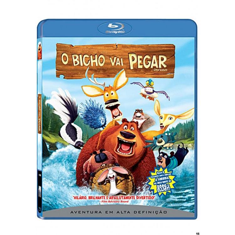 O BICHO VAI PEGAR  -  Animação - Blu-ray