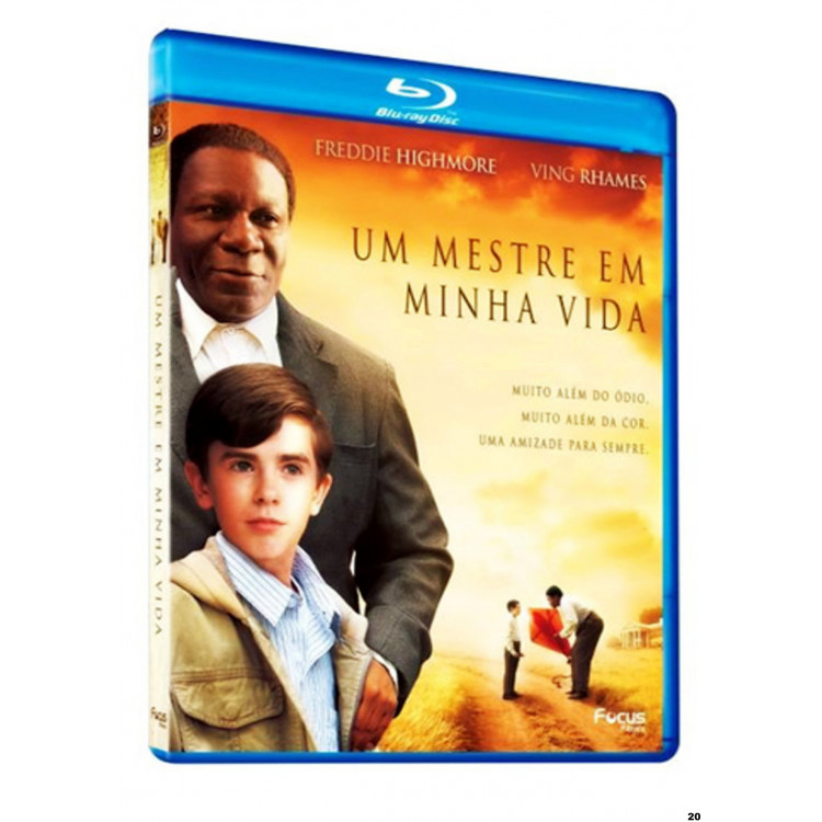 UM MESTRE EM MINHA VIDA - Freddie Highmore - Ving Rhames - Blu-ray