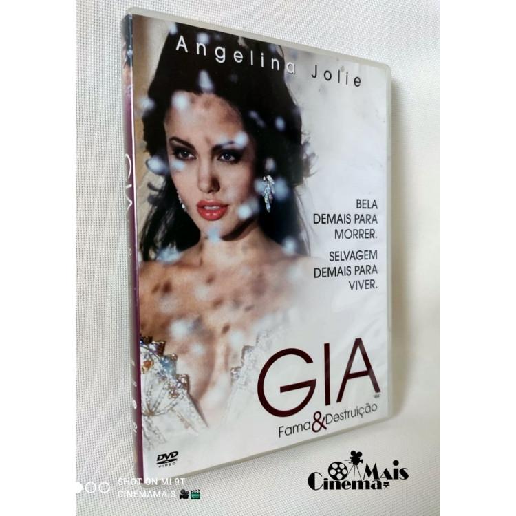 Gia - Fama E Destruição - Angelina Jolie - Dvd Original