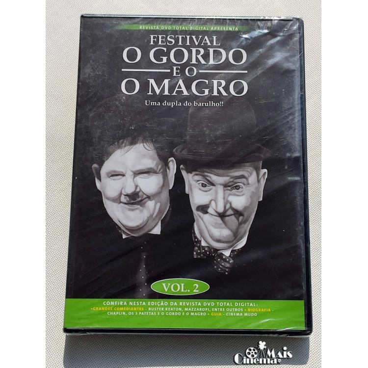 Festival O Gordo E O Magro - Uma Dupla Do Barulho - Dvd