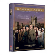 Dvd Dowton Abbey - Temporadas 1-2-3 E 4 Original Lacrado
