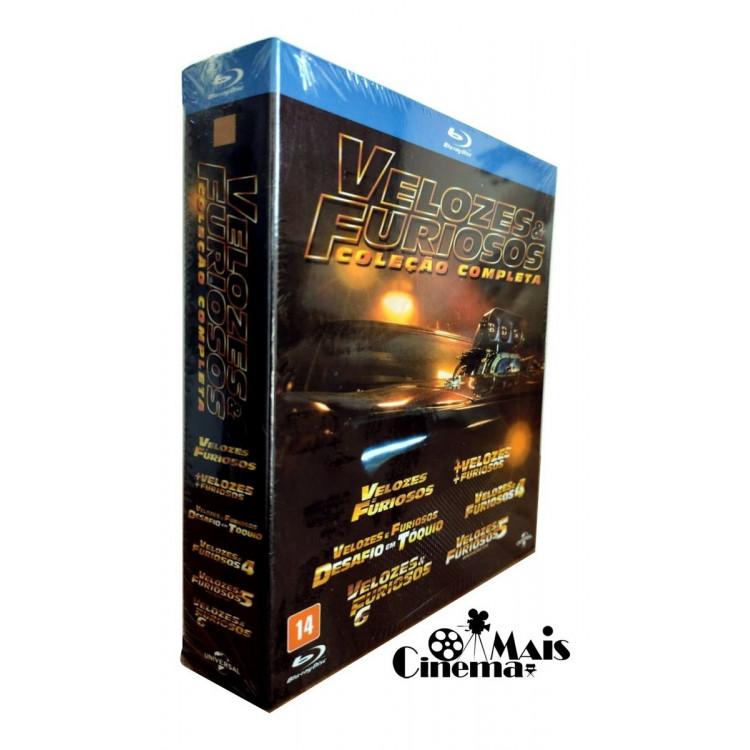 Blu-ray  - Velozes & Furiosos Coleção Completa