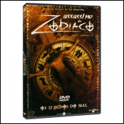 ASSASSINO DO ZODIACO OS 12 SIGNOS DO MAL - ULLI LOMML-S -  DVD