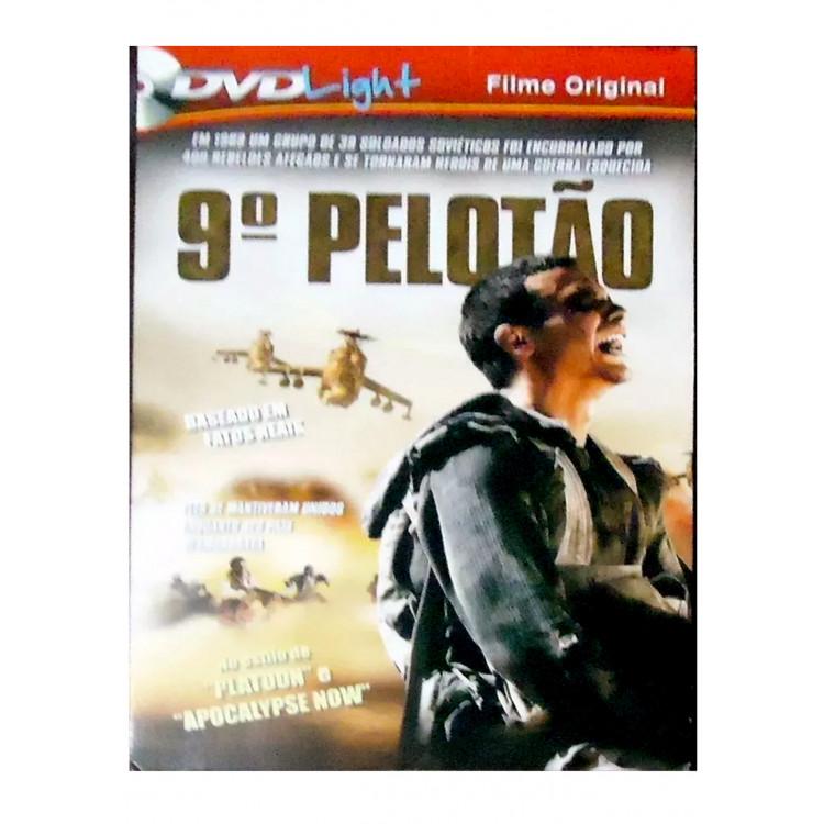9º PELOTÃO - DVD Light - Seminovo