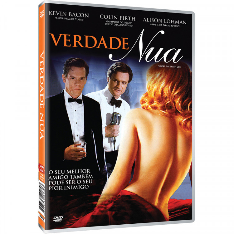 Verdade Nua - Kevin Bacon - Colin Firth - DVD