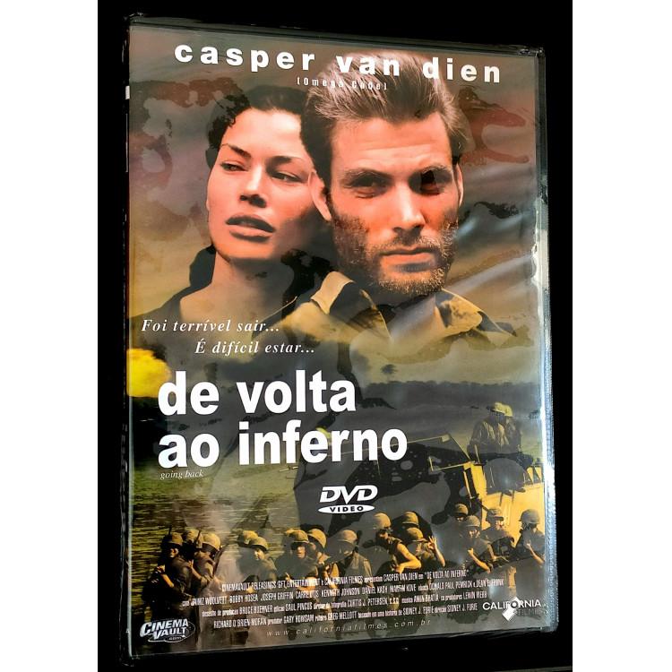 De Volta Ao Inferno - Casper Van Dien - DVD