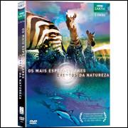 OS MAIS ESPETACULARES EVENTOS DA NATUREZA - BBC EARTH - DVD