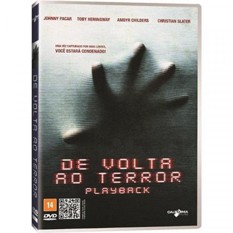DE VOLTA AO TERROR - PLAYBACK - DVD